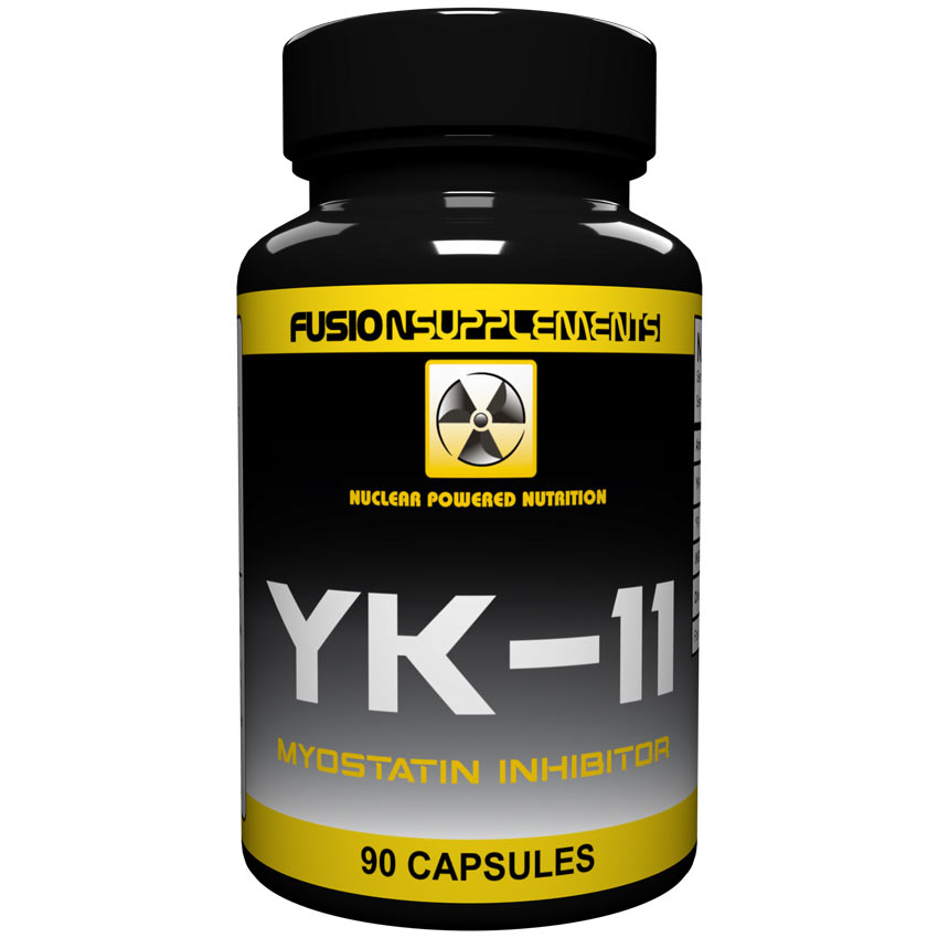 Image of Fusion supplements YK-11 90 Capsules