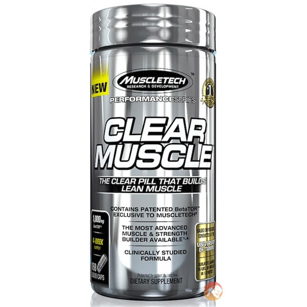 Image of Muscletech Clear Muscle 168 Caps