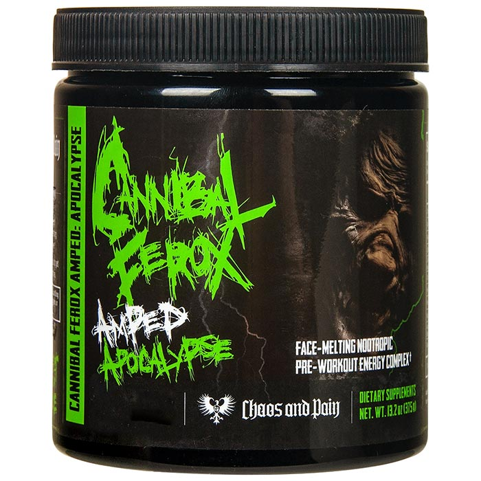 Image of Chaos & Pain Cannibal Ferox Apocalypse 25 Servings Blackberry Brutality
