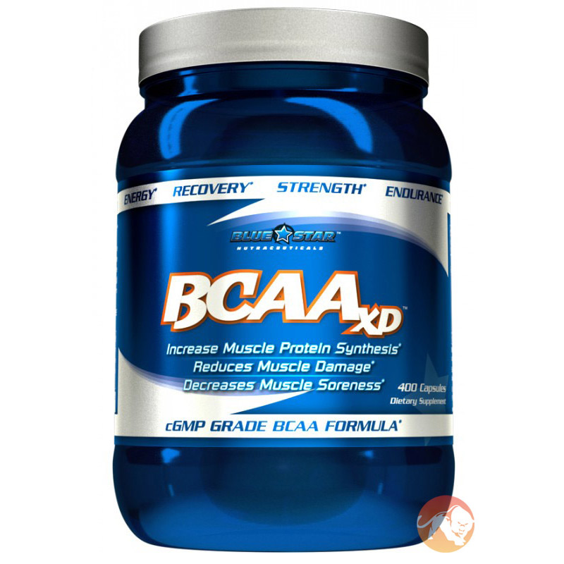 Image of Blue Star Nutraceuticals BCAA XD 400 Caps