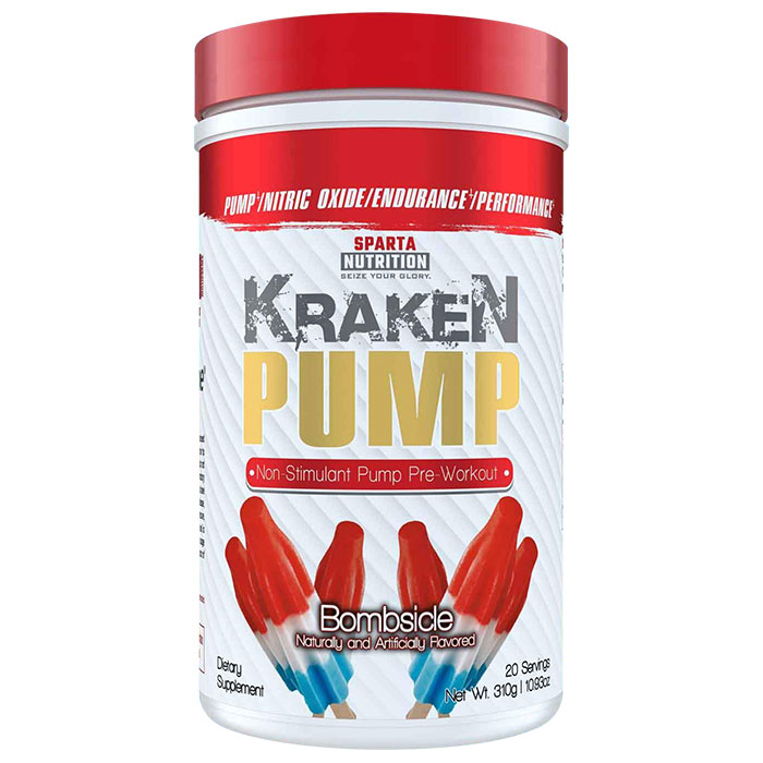 Kraken Pump 40 Servings Rainbow Candy
