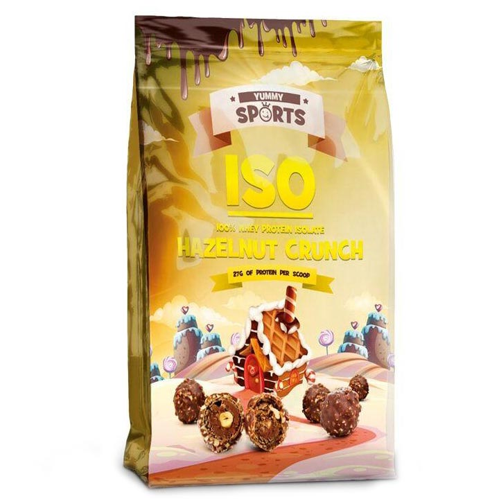 Image of Yummy Sports ISO 907g Coco Choco