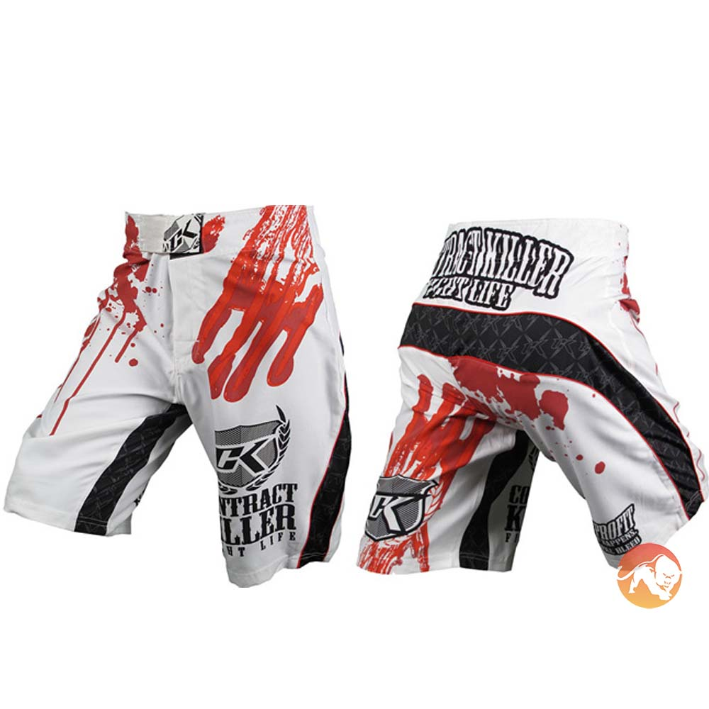 Stained Fight Shorts - 34inch waist