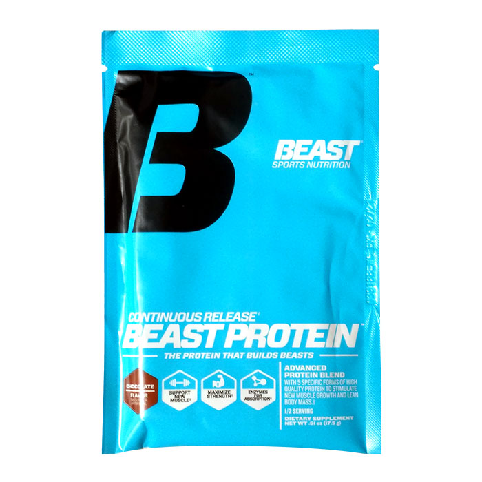 Image of Beast Sports Nutrition Beast Protein half trial serving