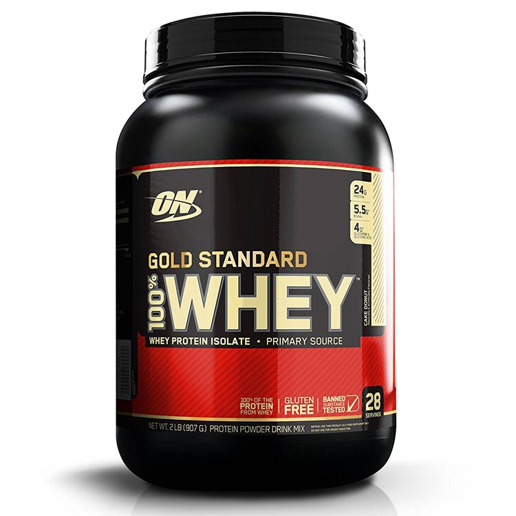 Gold Standard 100% Whey 2lb Chocolate Dipped Banana