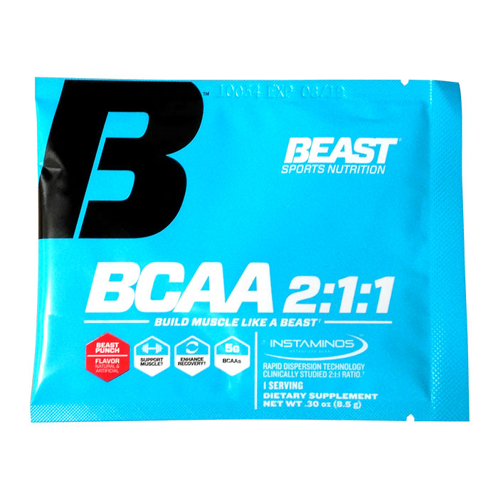 Image of Beast Sports Nutrition Beast BCAA trial serving