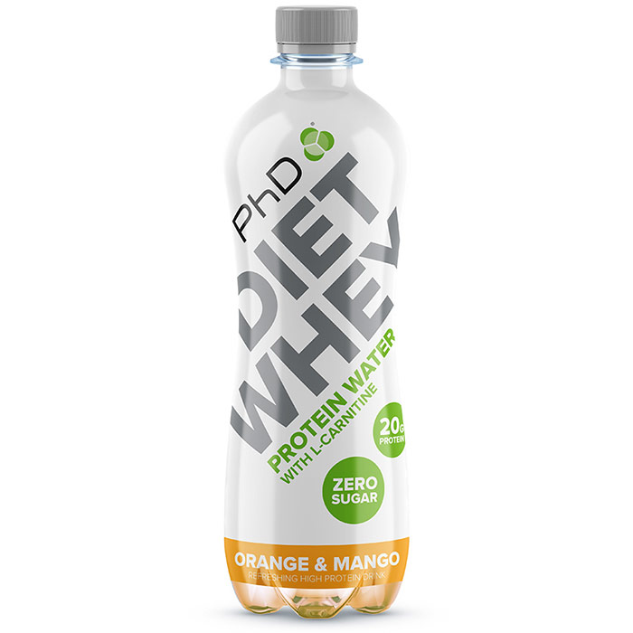 Diet Whey Protein Water 8 Bottles Red Berries