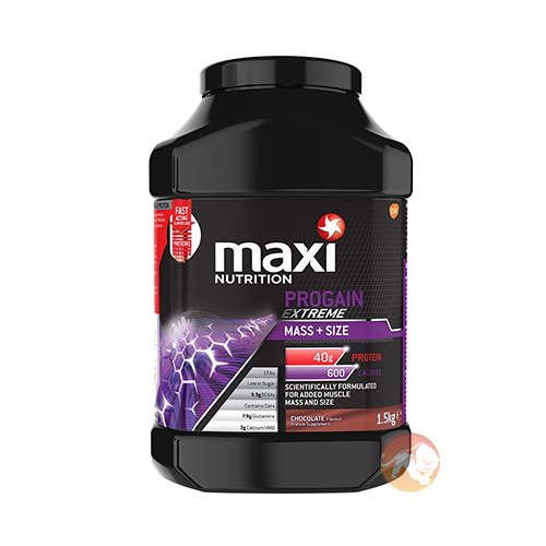 Image of Maxinutrition Progain Extreme 1500g Strawberry