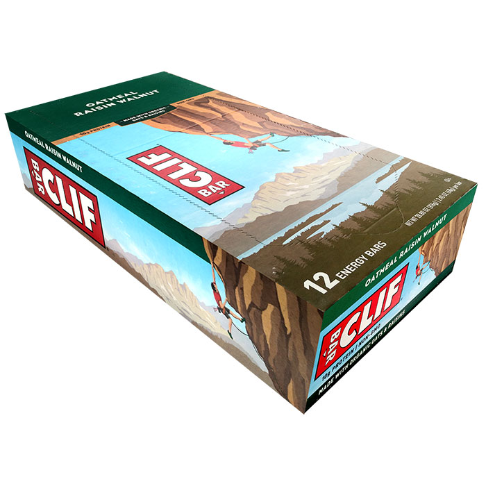 Image of Clif Bar Clif Bar 12 Bars Oatmeal Raisin Walnut