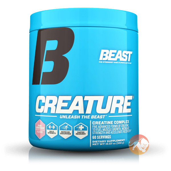Creature Powder 60 Servings-Pink Lemonade
