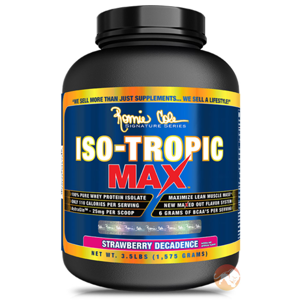 Image of Ronnie Coleman SignatureSeries Iso-Tropic Max 910g (2lb) - Blue Raspberry