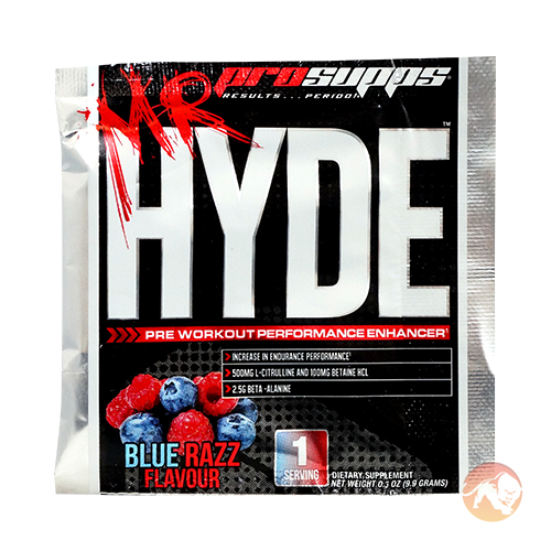 Image of ProSupps Prosupps Mr Hyde Trial Serving Blue Razz