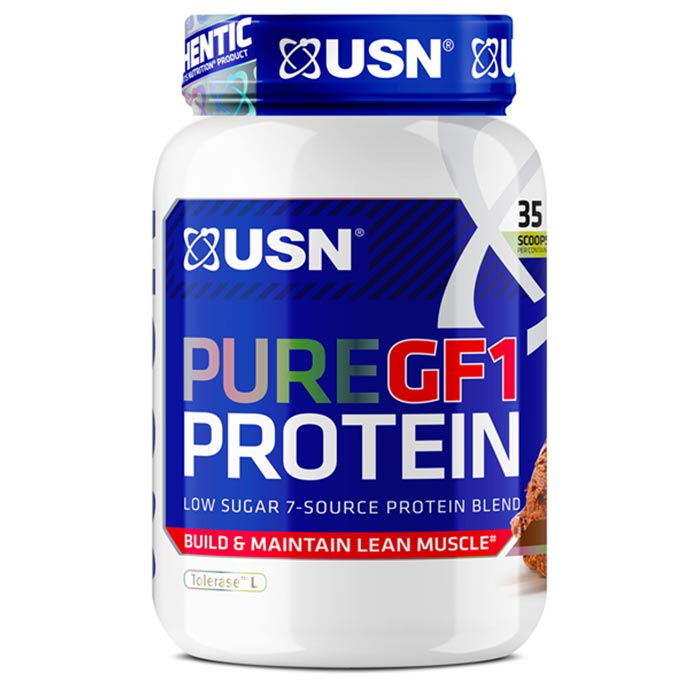 Image of USN Pure Protein GF-1 1kg Vanilla