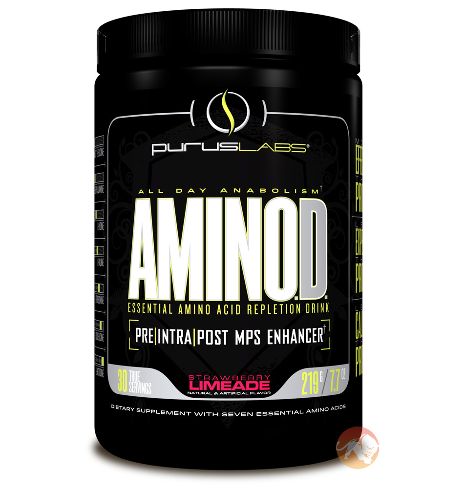 Image of Purus Labs AminOD 30 Servings - Blue Raspberry