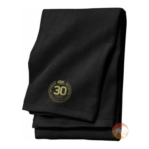 Optimum Nutrition 30 Year Anniversary Towel Black
