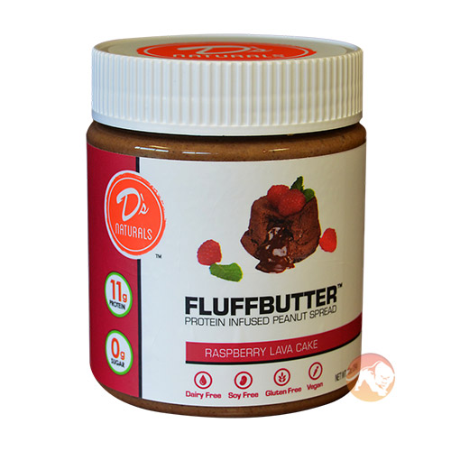 Image of No Cow Fluffbutter 284g Raspberry Lava Cake