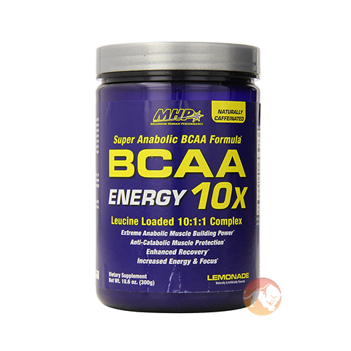 Image of MHP BCAA 10X Energy 30 Servings Fruit Punch