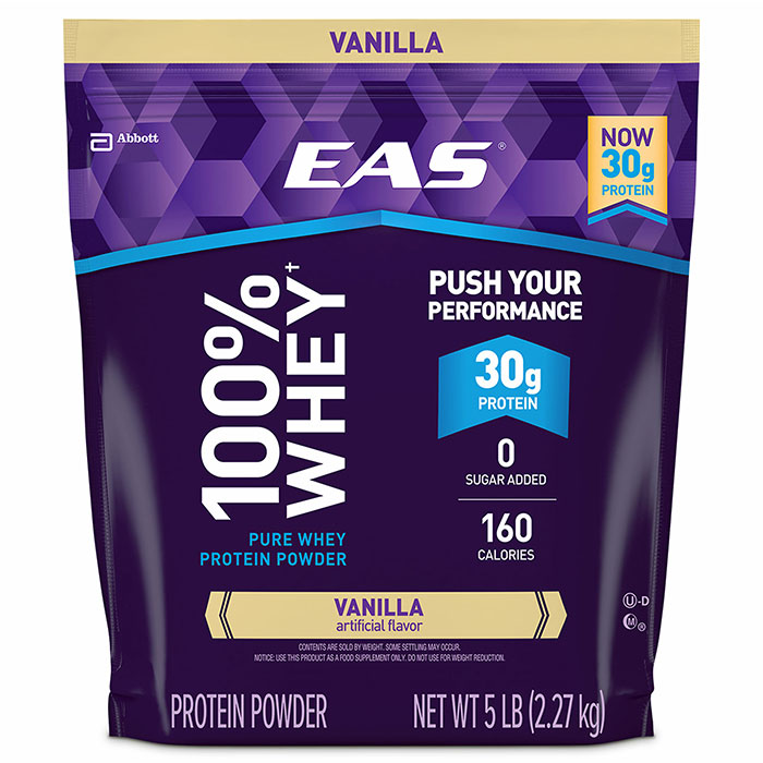 Image of EAS 100% Whey Protein 2.27kg Vanilla