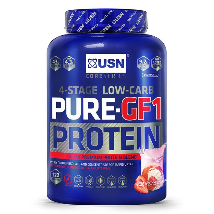 Pure Protein GF-1 2.28kg (5lb) Strawberry
