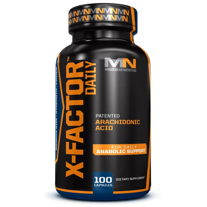 Image of Molecular Nutrition X-Factor Daily 100 Capsules