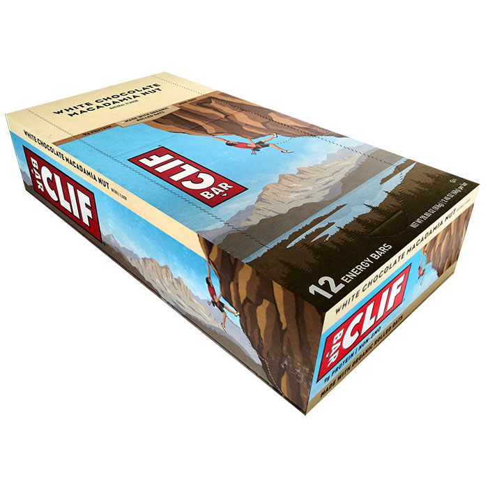 Clif Bar 12 Bars White Chocolate Macadamia