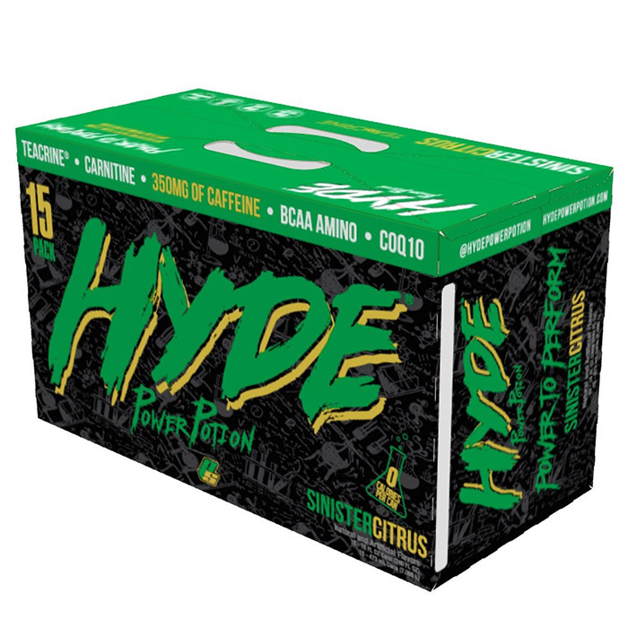 Image of ProSupps Hyde Power Potion 15 Cans Sinister Citrus