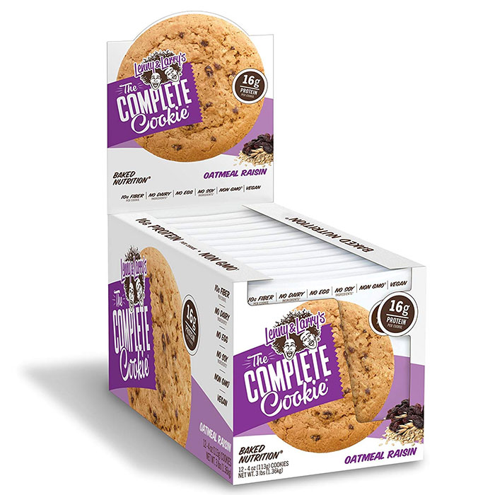Image of Lenny & Larry's Complete Cookie 12 Pack Oatmeal Raisin
