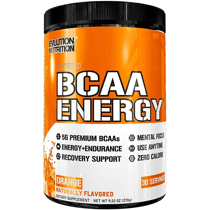 BCAA Energy 30 Servings Orange