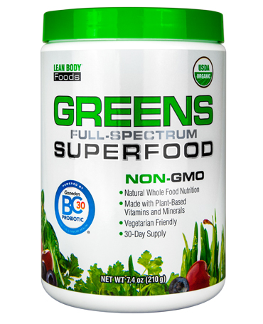 Image of Labrada Greens Full Spectrum Superfood 210g
