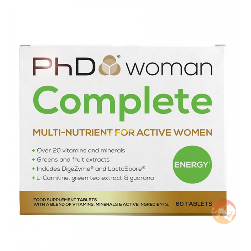 Image of PhD Woman Complete 60 Capsules