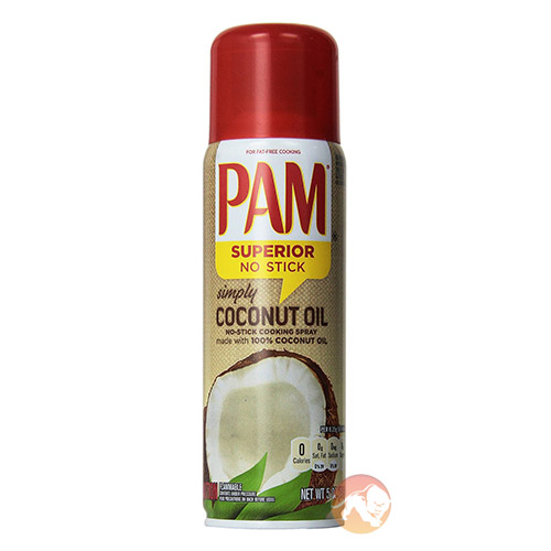 Image of PAM PAM Coconut Oil Spray 141ml