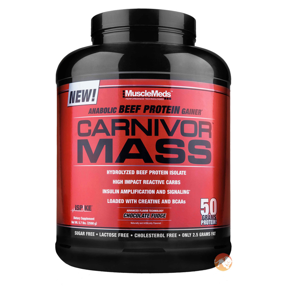 Carnivor Mass 2730g Chocolate Peanut Butter
