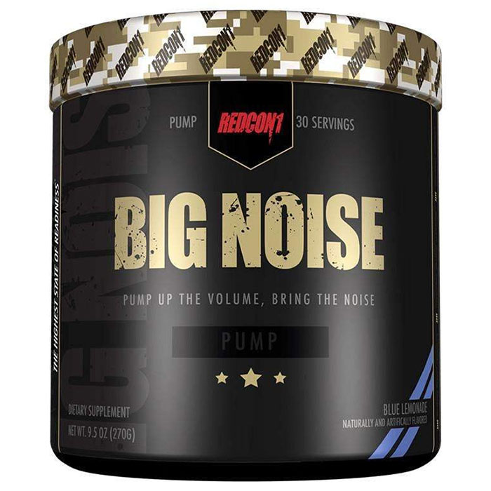 Image of REDCON1 Big Noise 30 Servings Blue Lemonade