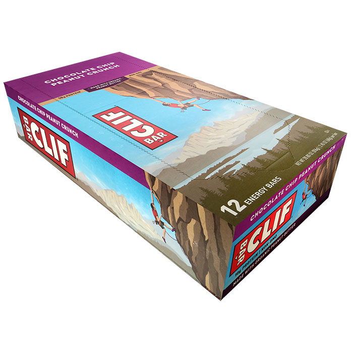 Clif Bar 12 Bars Chocolate Chip Peanut Crunch