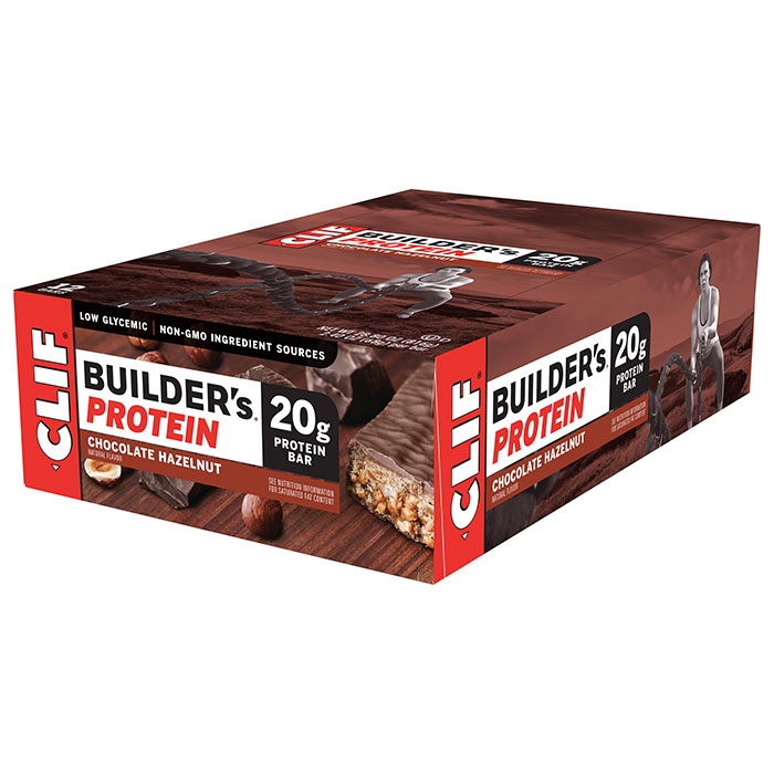 Image of Clif Bar Builder's Bar 12 Bars Chocolate Hazelnut