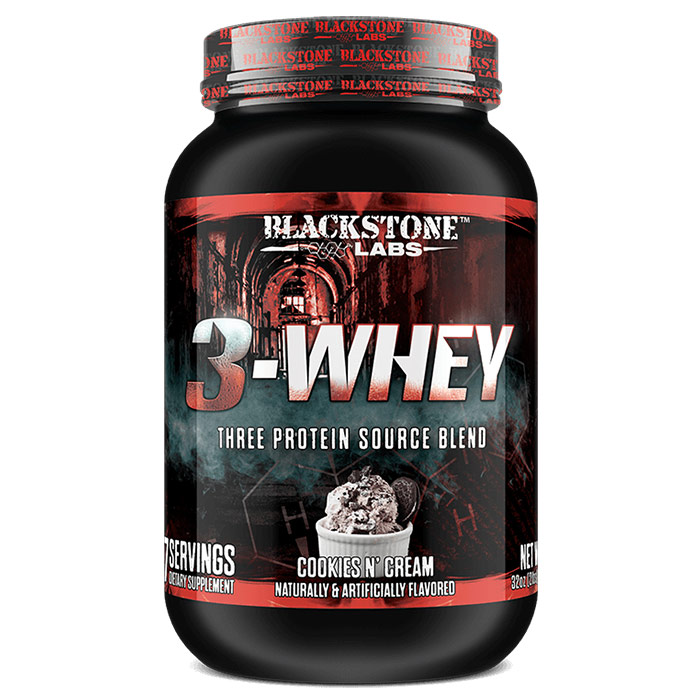 Image of Blackstone Labs 3-Whey Vanilla Peanut Butter 907g