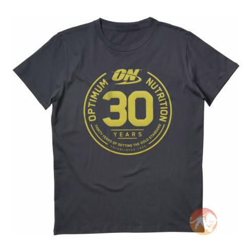 Optimum Nutrition 30 Year Anniversary T-Shirt Large