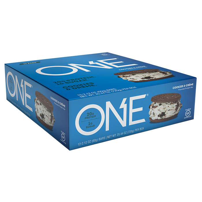 Image of Oh Yeah Nutrition Oh Yeah One Bar 12 Bars Cookies & Cream