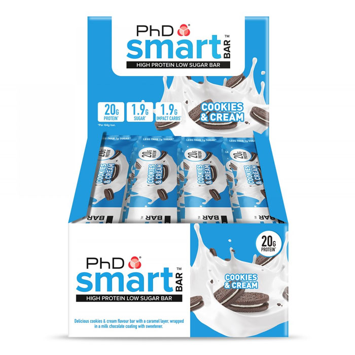 Smart Bar 12 Bars Cookies and Cream