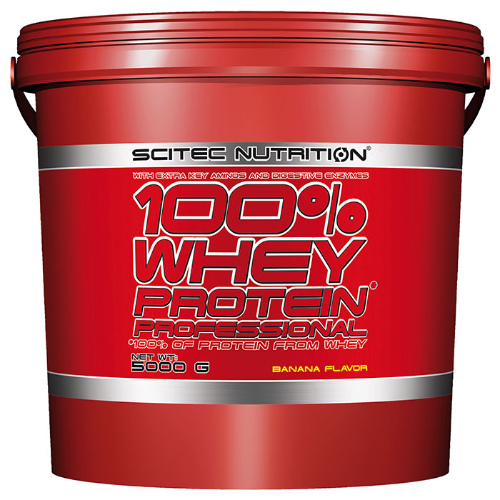 100% Whey Protein Professional 5000g Strawberry