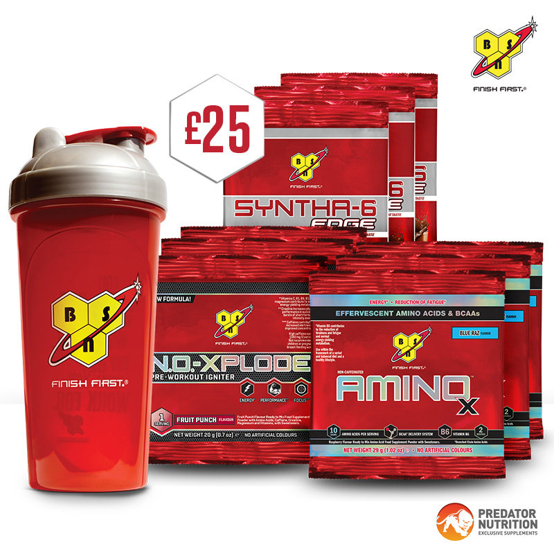 BSN Giftpack worth £25