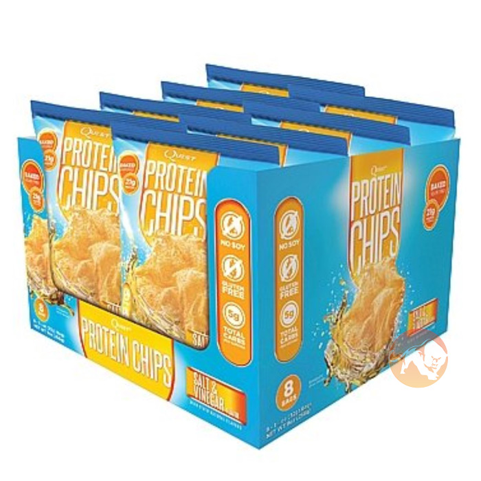 Quest Protein Chips 8 Pack Salt & Vinegar