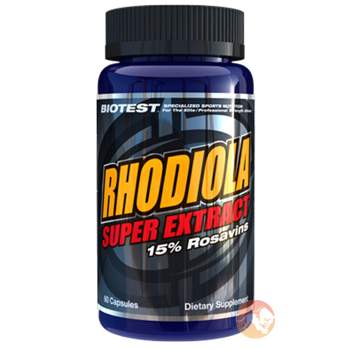 Image of Biotest Rhodiola Super Extract 60 Capsules