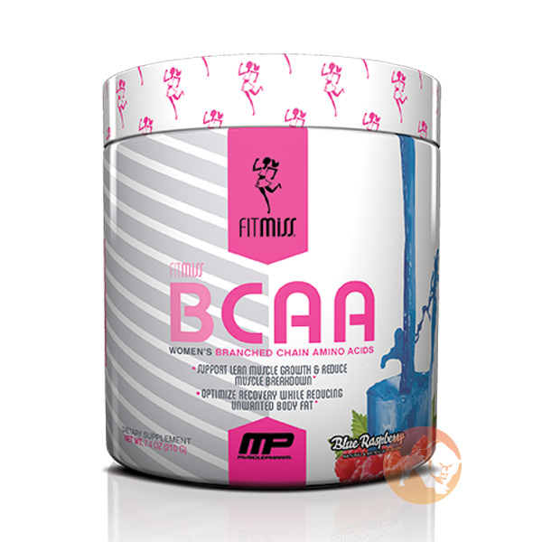Image of FitMiss Fitmiss BCAA 30 Servings Blue Raspberry