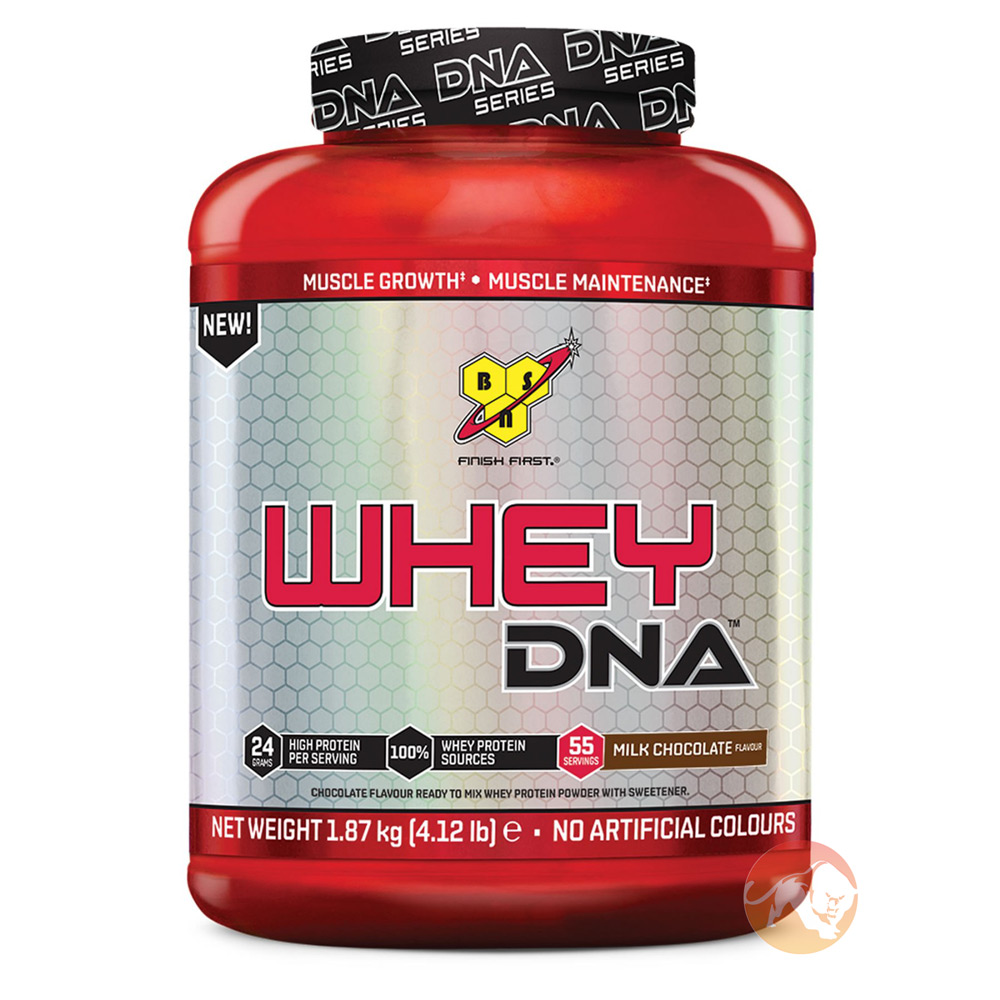 Image of BSN 100% Whey DNA Protein 1.87kg- Milk Chocolate