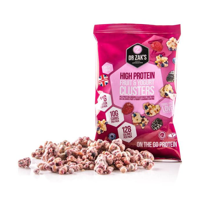 Image of Dr Zaks High Protein Clusters 1 Pack Fruit and Yoghurt