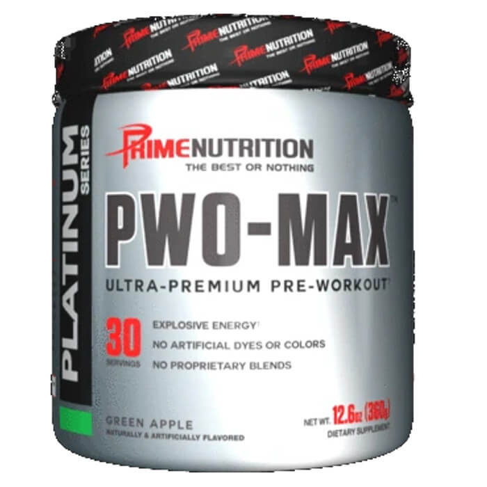 Image of Prime Nutrition PWO Max 360g Green Apple