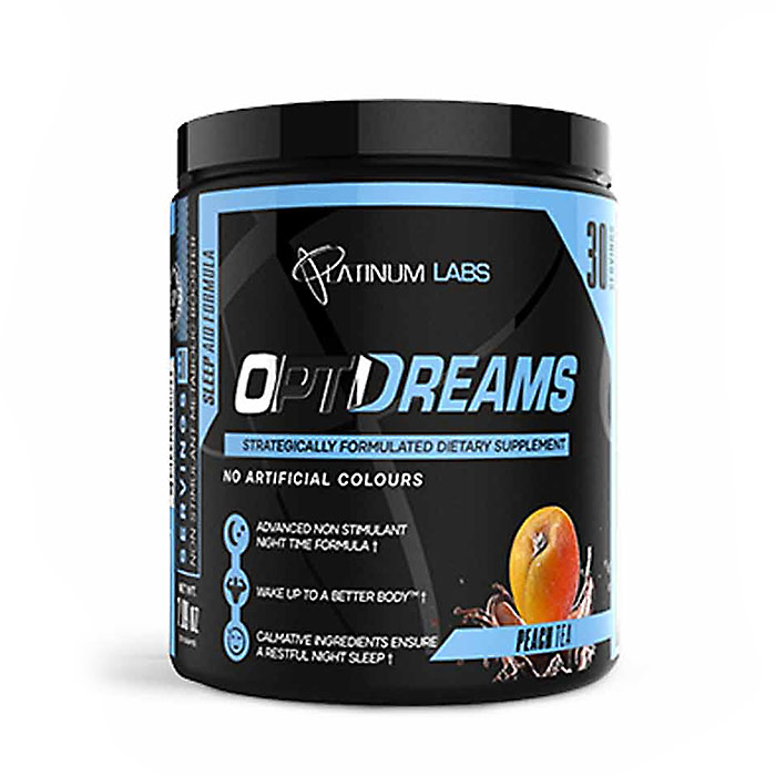 Image of Platinum Labs OptiDreams 30 Servings Peach Tea