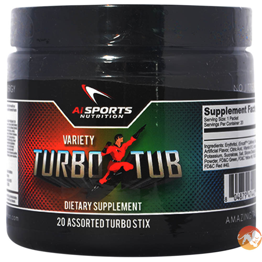 Image of AI Sports Nutrition Turbo Stix Single Serving - Apple