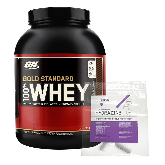 Gold Standard 100% Whey 2.27kg White Chocolate and Raspberry